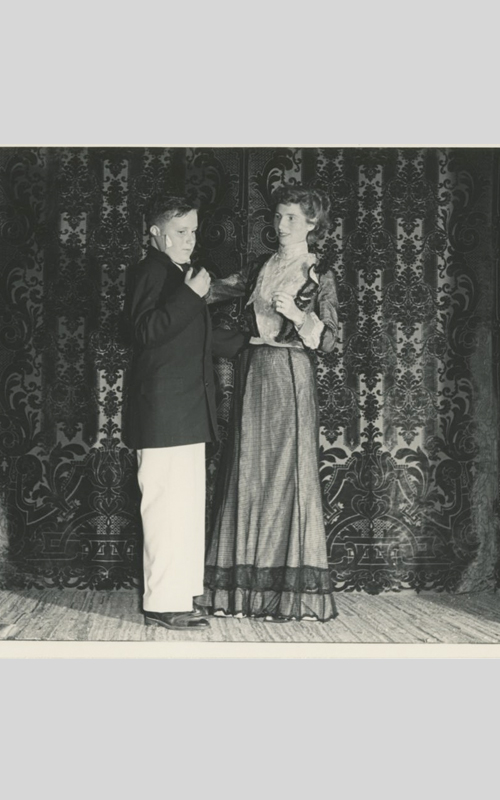 <h3>The First Dance</h3> <br> <p><strong>1949</strong></p>
