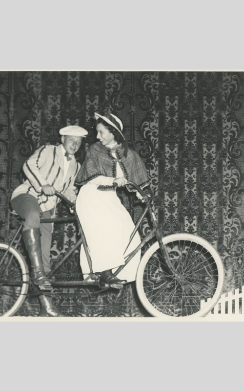 <h3>Bicycle Built for Two</h3> <br> <p><strong>1949</strong></p>