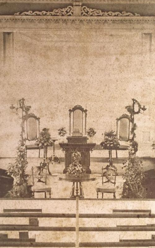 <h3>Church Interior</h3> <br> <p>1843-1867</p>