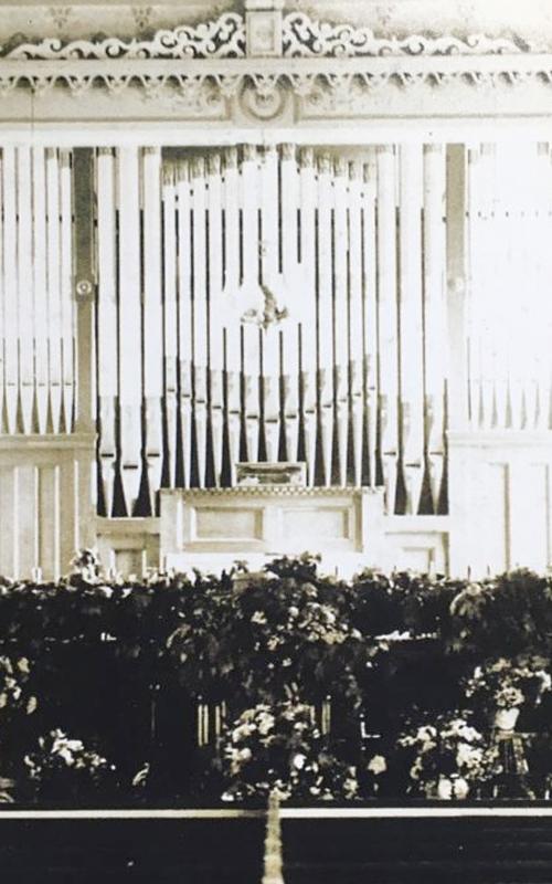 <h3>Church Interior</h3> <br> <p>1867-1906</p>