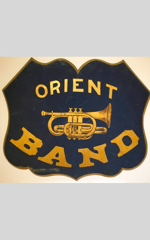 <h3>Orient Coronet Band Sign</h3>
