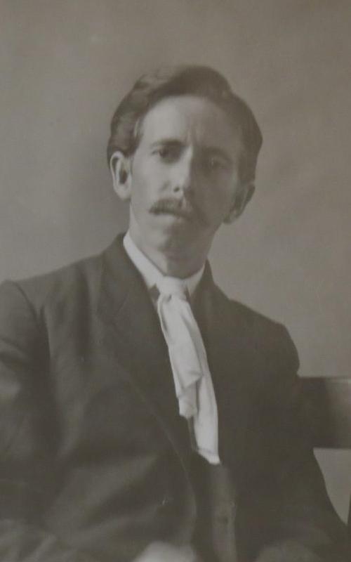 <h3>Self-portrait </h3> <p><strong>William Steeple Davis <br> Circa 1913</strong></p> <p>Gift of the William Steeple Davis Trust.</p>