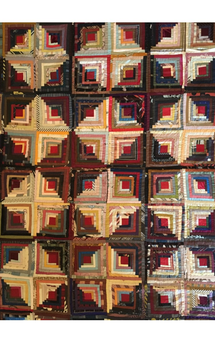 <h3>LOG CABIN - LIGHT AND DARK VARIATION</h3>